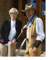 Bill Mackin with wife Mickee