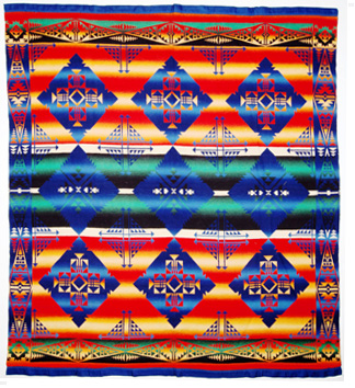 Indian Camp Blanket