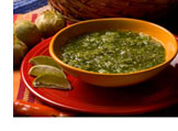Delicious bowl of Salsa Verde