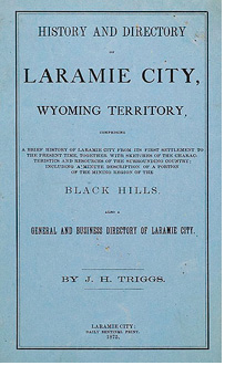 History and Directory of Laramie
