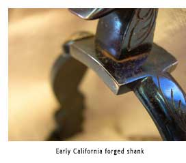 Early California Forged Shank